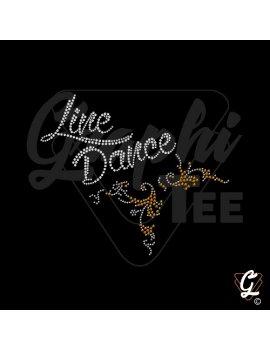Line dance arabesque