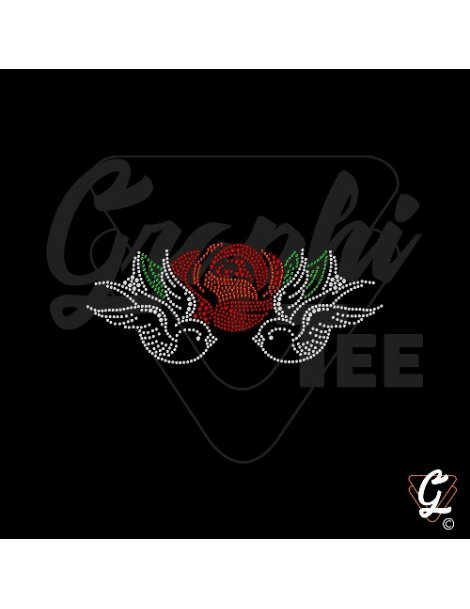 Hirondelles roses