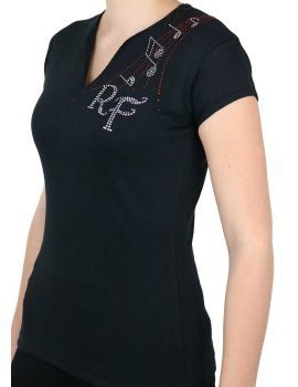 Rob Fowler - T-shirt femme col V