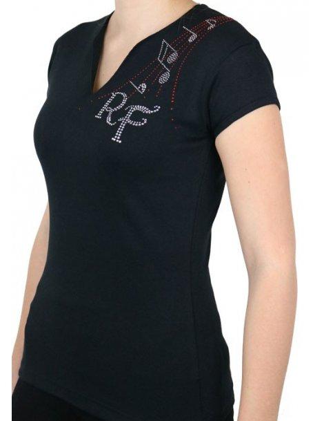 55a17344b1e1 Rob Fowler - T-shirt femme col V - GRAPHI-TEE