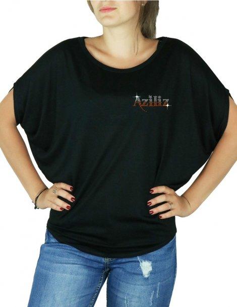 AZILIZ - T-shirt femme manches Chauves Souris