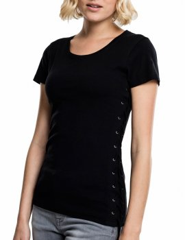 Laced-Up Tee-Top femme