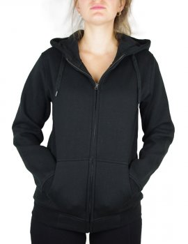 Hooded women's jacket