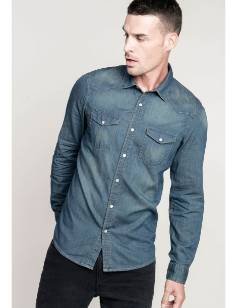 Chemise homme en jeans
