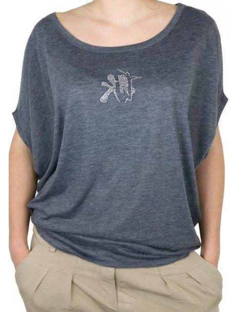 Kate SALA - T-shirt femme manches Chauves Souris