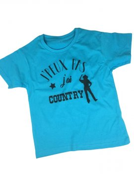 J' peux j'ai country - t-shirt enfant