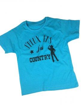 J' peux pas j'ai country - t-shirt enfant