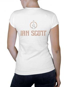 Ian SCOTT - T-shirt femme col V