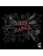 Motif transfert Line dance stars