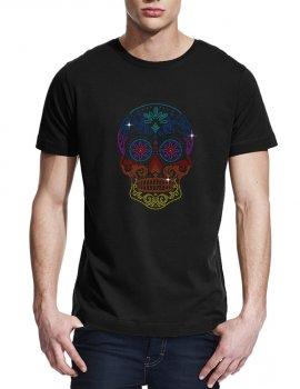 Tête de mort mexicaine-T-shirt homme