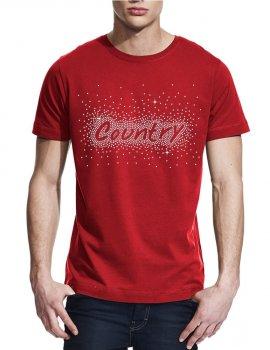 Country éclaté - T-shirt homme