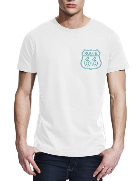Route 66 -T-shirt homme