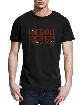 Line Dance Miroir - T-shirt homme