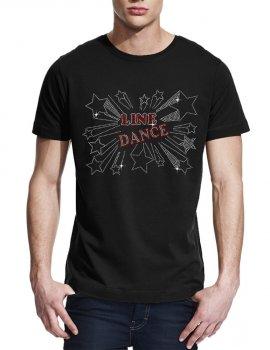 Line dance étoiles - T-shirt homme