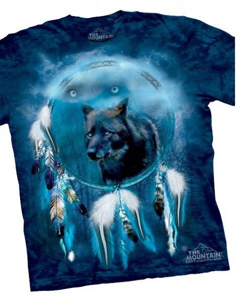 black wolf spirit shield