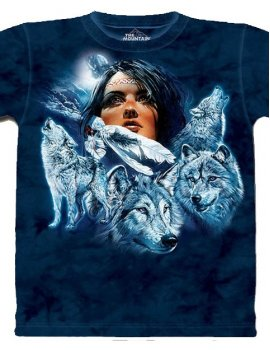 Wolf Pack Mainden - Tshirt Indien - The Mountain