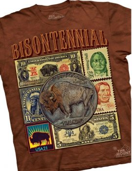 Bisontennial - Tshirt Indien- The Mountain