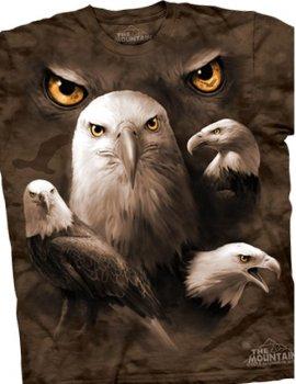 Eagle Moon Eyes - T-shirt - The Mountain