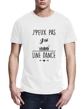 J'peux pas j'ai Line Dance - T-shirt homme