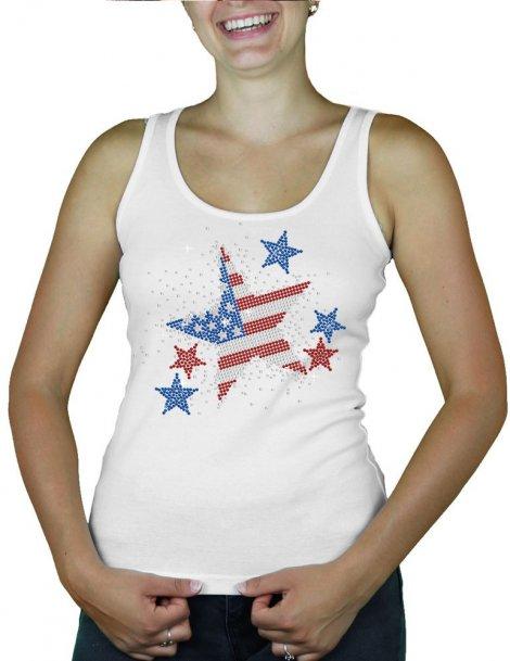 Stars USA - tank-tops