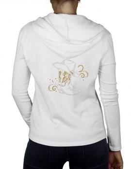 Boots & Arabesques - Women's Hooded Vest