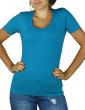 T-shirt femme col U