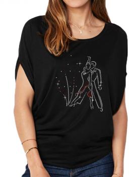 Danseurs Rumba - T-shirt femme Manches Chauve Souris