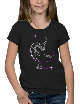 Patineuse- T-shirt Fillette