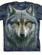 Warrior wolf T-shirt THE MOUNTAIN