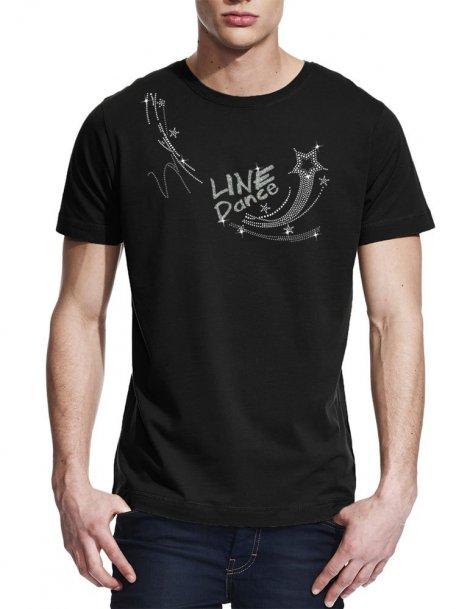 Line dance étoile - T-shirt homme