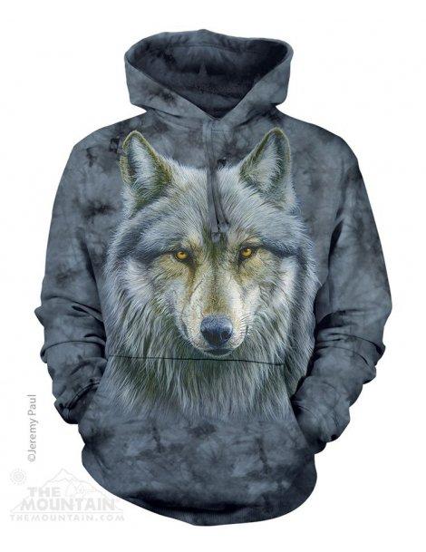Sweat capuche Warrior wolf - The mountain