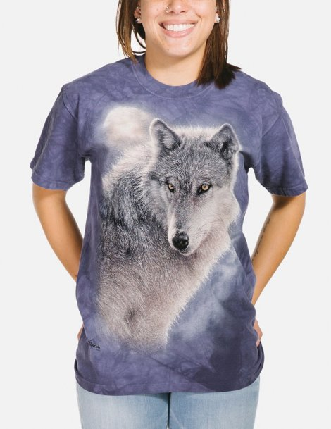 T-shirt wolf The mountain