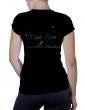 Magali CHABRET - T-shirt noir femme col V