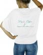 Magali Chabret - T-shirt noir femme manches chauves souris