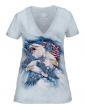 T-shirt femme Allegiance The mountain