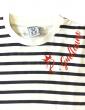 Navy tee shirt of guillaume Richard