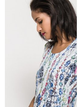 t-shirt Perles & Plumes