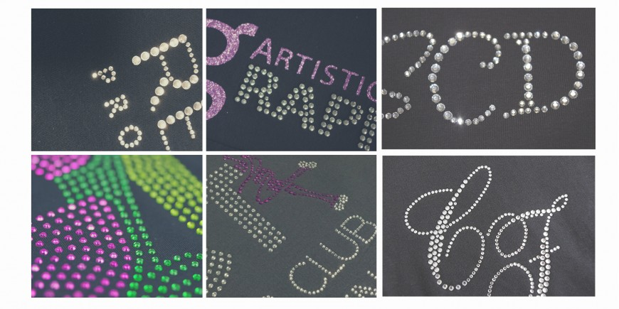 Creation logo strass