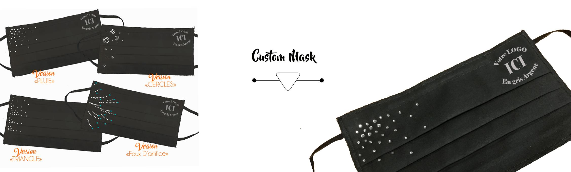 customed masks for dancers